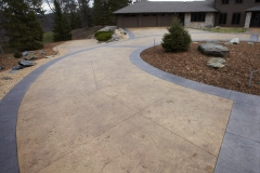 Stamped Driveway 1